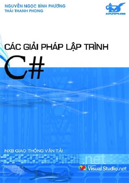 Các giải pháp lập trình C#.