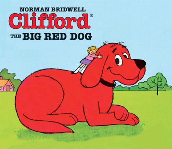 truyện tiếng anh cho trẻ Clifford The Big Red Dog