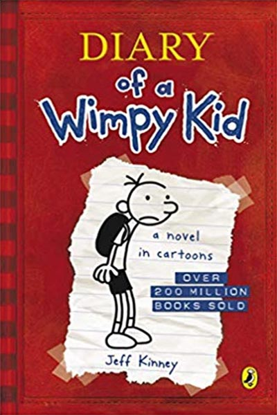 truyện tiếng anh cho trẻ Nhật ký của cậu bé nhút nhát- Jeff Kinney