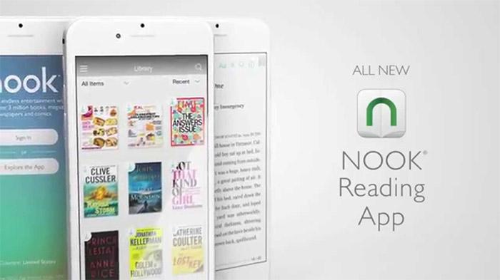 ứng dụng đọc truyện nook