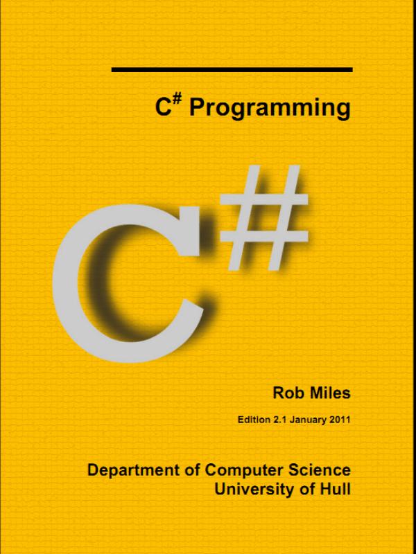 sách lập trình C#